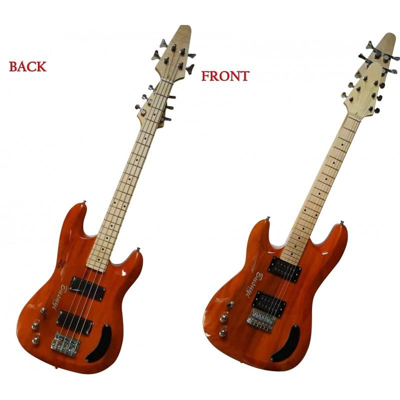 4 String Bass/ 6 String Lead  Double Neck Busuyi Guitar