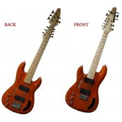 5 String Bass/ 7 String Lead Double Neck Busuyi Guitar