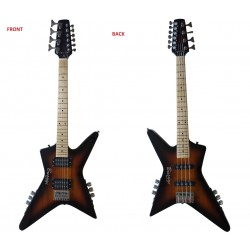 4 String Bass/ 6 String Lead Headless Busuyi Guitar