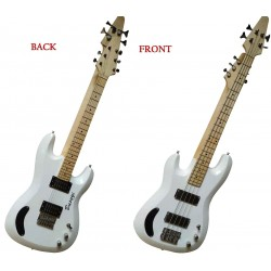 4 String Bass/ 6 String Lead Double Neck Busuyi Guitar