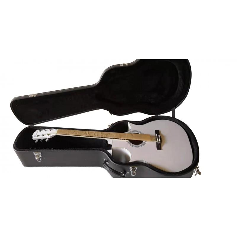 12/6 String Acoustic/ Electric Busuyi Guitar NP Hard Case