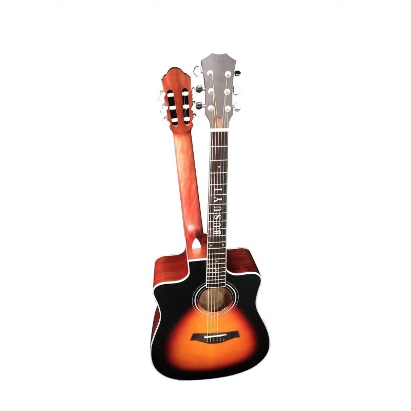 12 String / 6 String Acoustic/Electric Busuyi Guitar