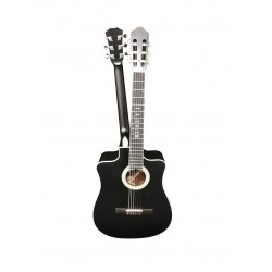 6 String Classical/ 6 String Acoustic/Electric Busuyi Guitar with XLR Input NPT