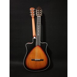 6 Strings classical /6 Strings Acoustic Double Neck, Double Sided Busuyi Guitar 2021 NPT